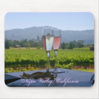 Los viñedos de Napa Valley Tapetes De Raton