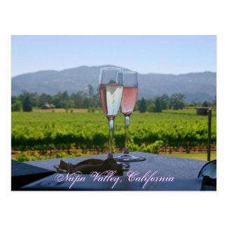 Los viñedos de Napa Valley Tarjetas Postales
