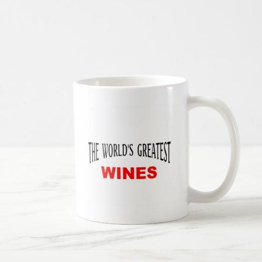 Los vinos más grandes de Worl'd Tazas