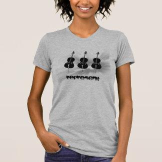 ¡Los violoncelistas representan Camisetas