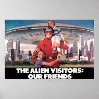 """Los visitantes nuestros amigos 36"""" x 24"""" poster"""
