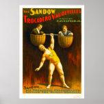 Los vodeviles de Sandow Trocadero Poster