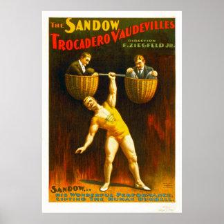 Los vodeviles de Sandow Trocadero Póster