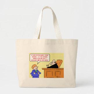 los votantes del juez de la colocación de trampas  bolsa