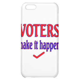 Los votantes hacen que sucede