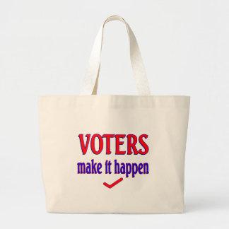 Los votantes hacen que sucede bolsa
