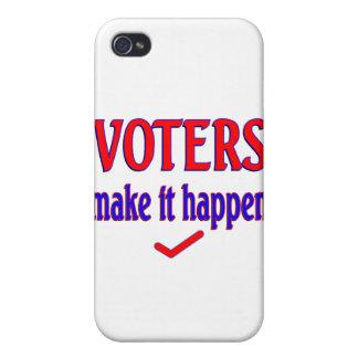 Los votantes hacen que sucede iPhone 4/4S carcasa