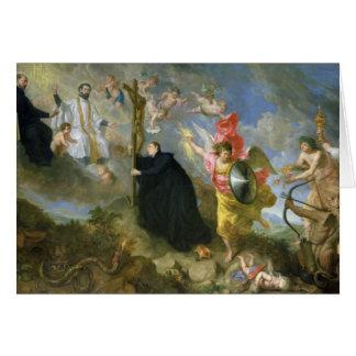 Los votos del santo Aloysius de Gonzaga Tarjeta De Felicitación