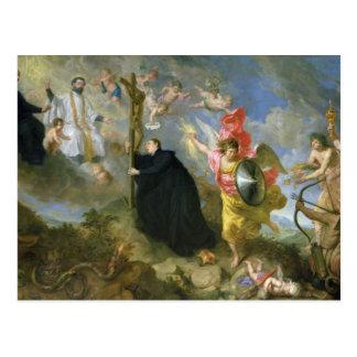Los votos del santo Aloysius de Gonzaga Tarjetas Postales