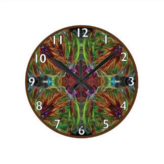 Los Web y tejen Reloj Redondo Mediano