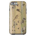 Los Wildebeests, las cebras y las jirafas Funda Resistente iPhone 6