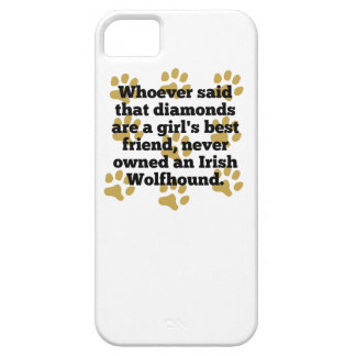 Los Wolfhounds irlandeses son el mejor amigo de un iPhone 5 Funda