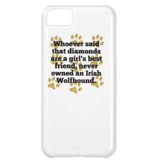 Los Wolfhounds irlandeses son el mejor amigo de un Funda Para iPhone 5C