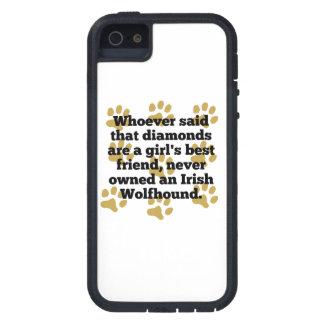 Los Wolfhounds irlandeses son el mejor amigo de un iPhone 5 Carcasas