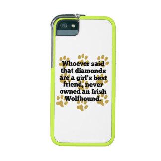 Los Wolfhounds irlandeses son el mejor amigo de un
