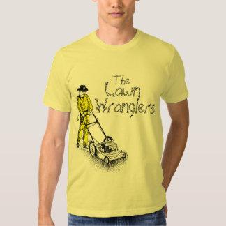 Los Wranglers del césped Remera