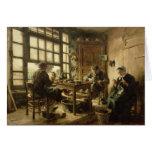 Los zapateros, 1880 tarjetón