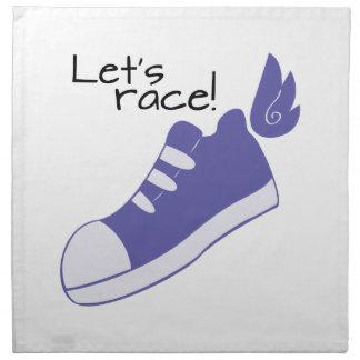 ¡Los zapatos cons alas dejan la raza! Servilletas