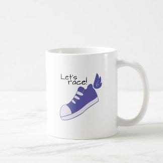 ¡Los zapatos cons alas dejan la raza! Taza Clásica