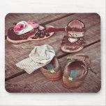 Los zapatos de los niños - cojín de ratón tapetes de ratones