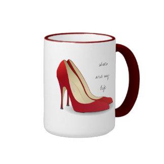 Los zapatos son mi vida taza de café