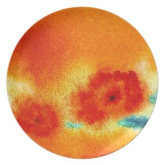 los zarathustras florecen… arte de Jutta Gabriel… Plato De Comida