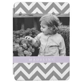 Los zigzags de la lavanda personalizaron la foto cover de iPad air