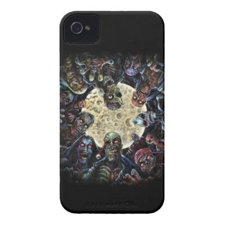 Los zombis atacan (la horda del zombi) carcasa para iPhone 4 de Case-Mate