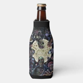 Los zombis atacan (la horda del zombi) enfriador de botellas
