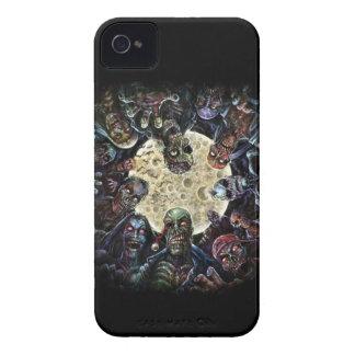 Los zombis atacan (la horda del zombi) Case-Mate iPhone 4 funda