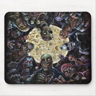 Los zombis atacan (la horda del zombi) tapetes de ratón