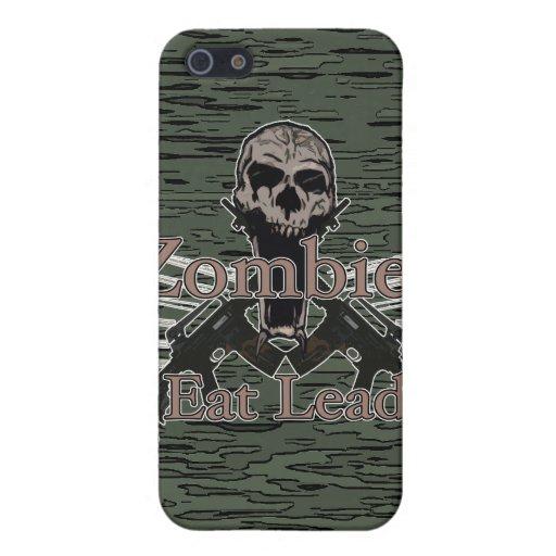 Los zombis comen la ventaja iPhone 5 carcasa