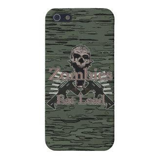 Los zombis comen la ventaja iPhone 5 funda