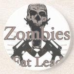 Los zombis comen la ventaja posavasos manualidades