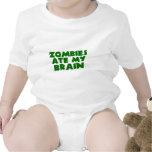 Los zombis comieron mi cerebro camiseta