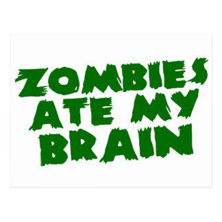 Los zombis comieron mi cerebro postal