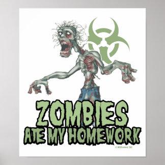 Los zombis comieron mi preparación póster