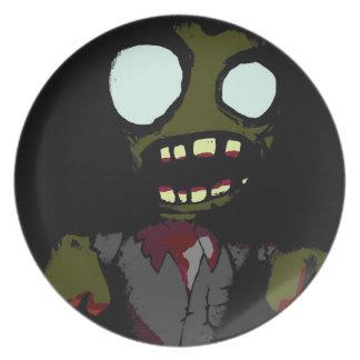 ¡Los zombis consiguen hambrientos también! Plato