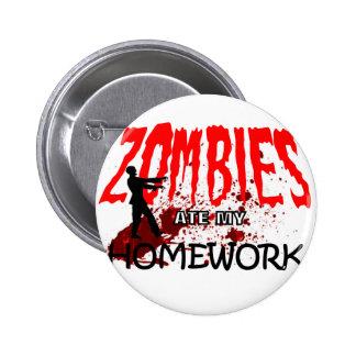 Los zombis del regalo del zombi comieron mi prepar pins