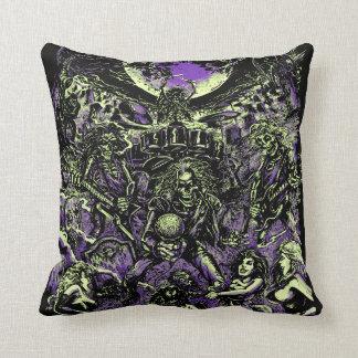 Los zombis esqueléticos muertos de Rockin Cojín Decorativo