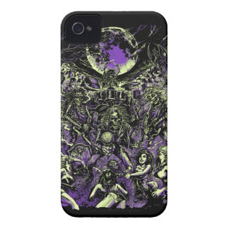 Los zombis esqueléticos muertos de Rockin Case-Mate iPhone 4 Protector