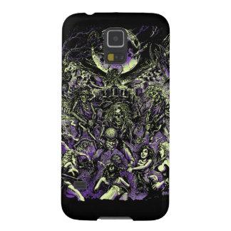 Los zombis esqueléticos muertos de Rockin Funda Para Galaxy S5