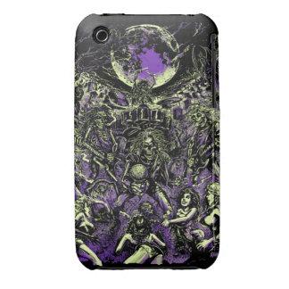 Los zombis esqueléticos muertos de Rockin Case-Mate iPhone 3 Cárcasas