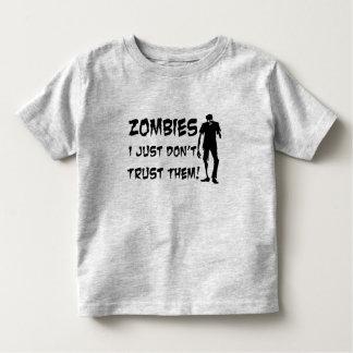 Los zombis I apenas no los confían en camisa del