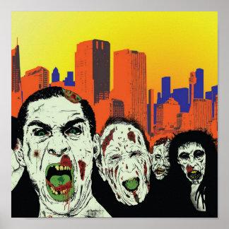 Los zombis muertos vivos póster