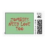 Los zombis necesitan amor también franqueo