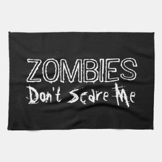Los zombis no me asustan toallas de cocina