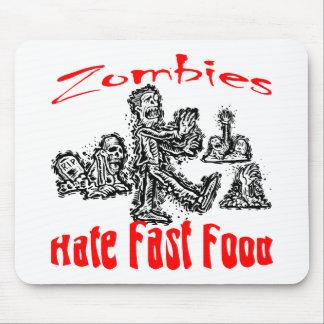 Los zombis odian los alimentos de preparación rápi tapete de ratones