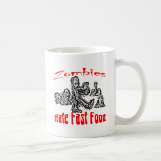 Los zombis odian los alimentos de preparación rápi taza