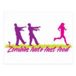 Los zombis odian los alimentos de preparación postal